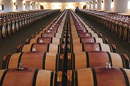 Mouton Rothschild Great Barrel Hall copyright Ronald Rens 2006