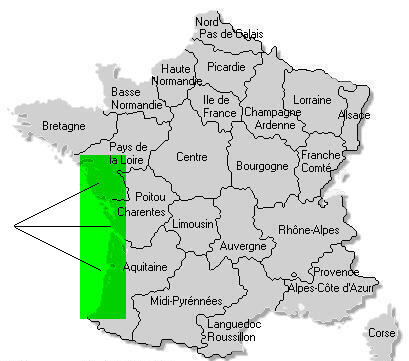 Map Of France Vendee.France On Your Own Newsletter