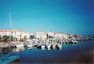 The marina at Fréjus