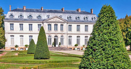 Château du Grand Lucé.  Copyright T. Corrigan.  All rights reserved.