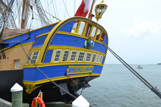 L'Hermione, Greenport, LI, NY   Photo copyright Marie Zipfel.  All rights reserved.