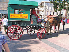 Circus wagon, Narbonne.  Copyright 2009 by Marlane O'Neill.  All rights reserved.