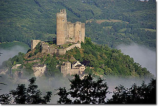 Najac Castle. Photo � Garth Bailey/photosbygar 2008-2011.  All rights reserved.
