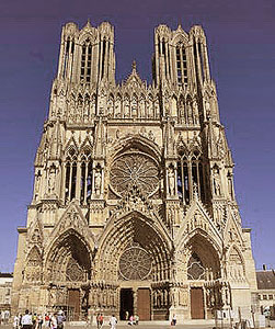 The Cathedral At Reims
