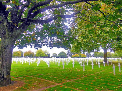American Cemetery in Saint James, France