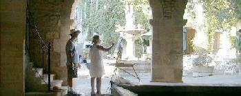 An art lesson at Maison des Remparts, Saignon